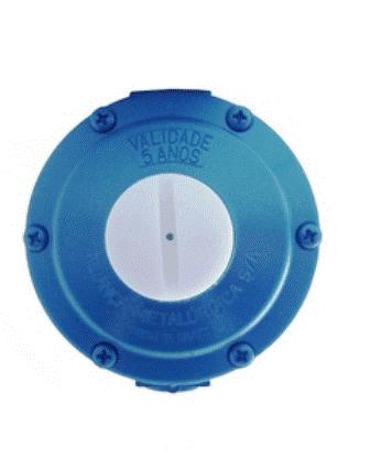 Regulador Para Gás Aliança Azul 7 Kg/H 1/8x3/8 - 21751