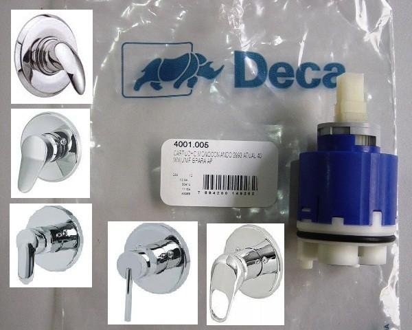 Reparo Monocomando Deca Chuveiro 2993 e 4 Vias 2994 Deca 40 Mm - 4001005