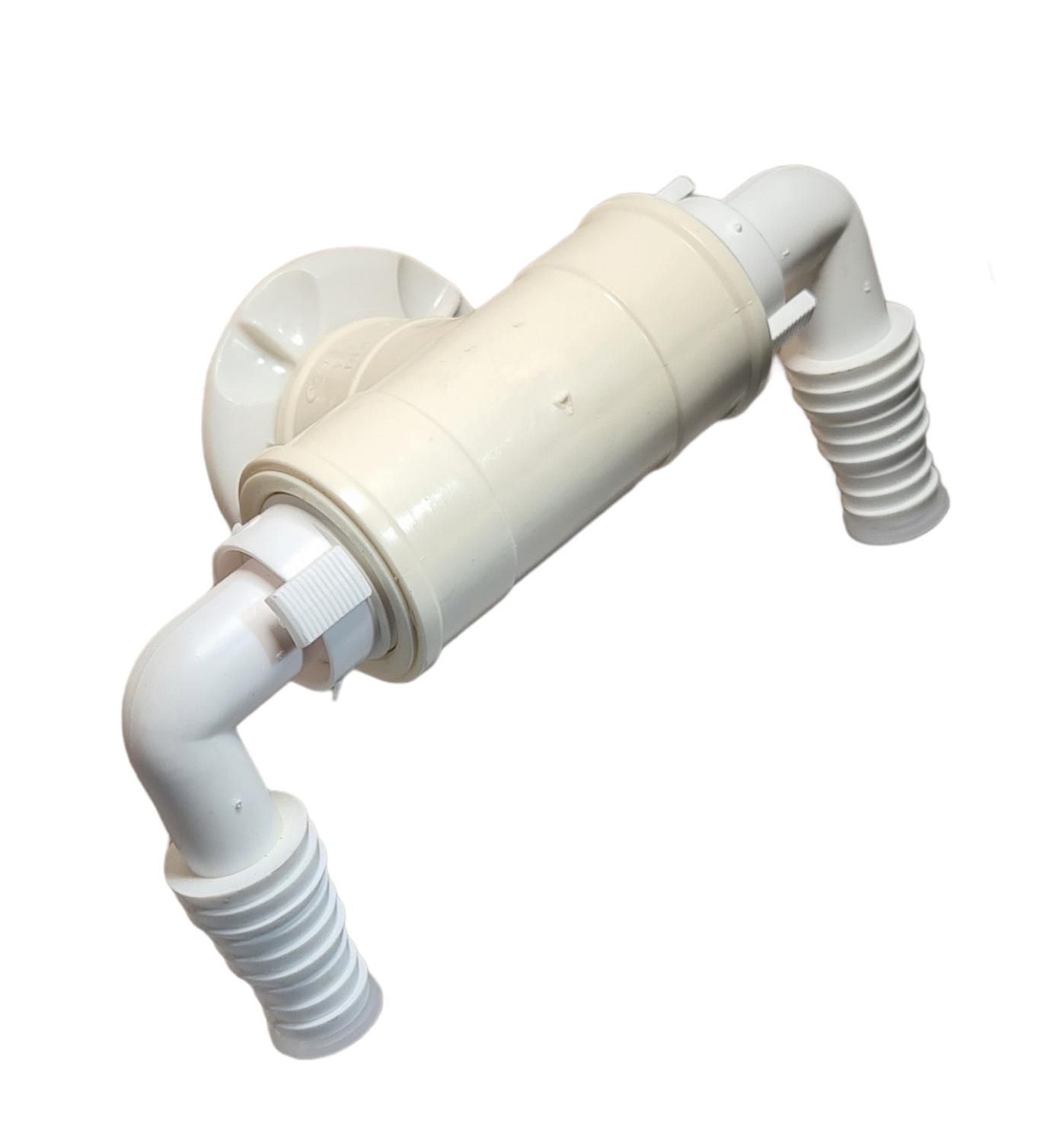Saída Dupla Com Adaptador Amanco Máquina Lavar Esgoto 40 - 350725