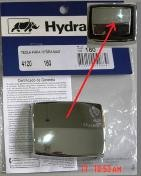 TECLA PARA HYDRA MAX CROMADA COD FABRICA 4120160