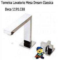 TORNEIRA DE LAVATÓRIO MESA DREAM CLASSICA 1191C88