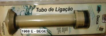 Tubo de Ligação Deca Com Anel Especial Bege - 1968EBE