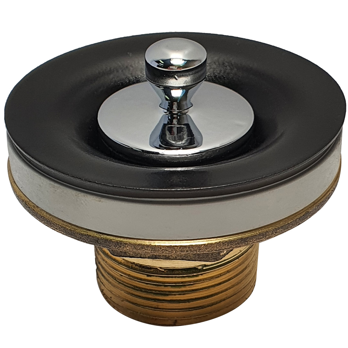 Válvula de Escoamento Deca Luxo Preto para lavatório - 1602PTCR