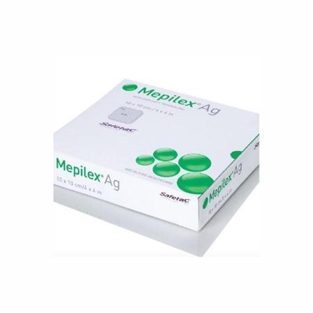 CURATIVO MEPILEX AG 10X10 COD 287100 - MOLNLYCKE