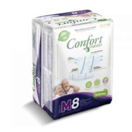 FRALDA CONFORT MASTER M C/8