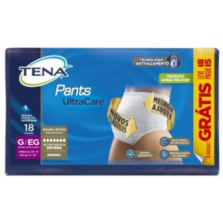 FRALDA TENA PANTS ULTRA TAM:G/EX C/18