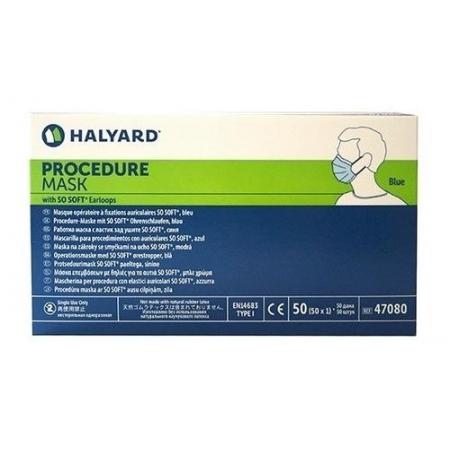MASCARA DESCARTAVEL C/ ELASTICO ADULTO C/ 50 - HALYARD