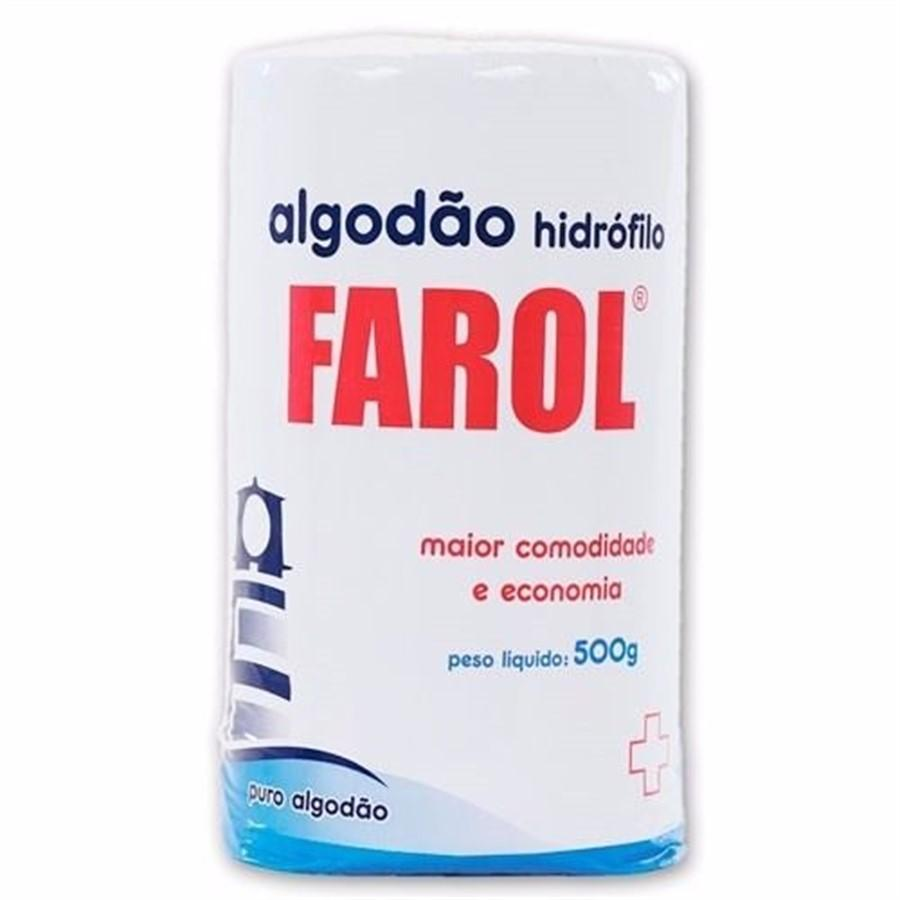 ALGODAO HIDROFILO ROLO 500GR - FAROL
