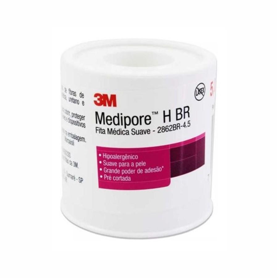 FITA ADESIVA MEDIPORE-H 5CMX4,5M- 3M