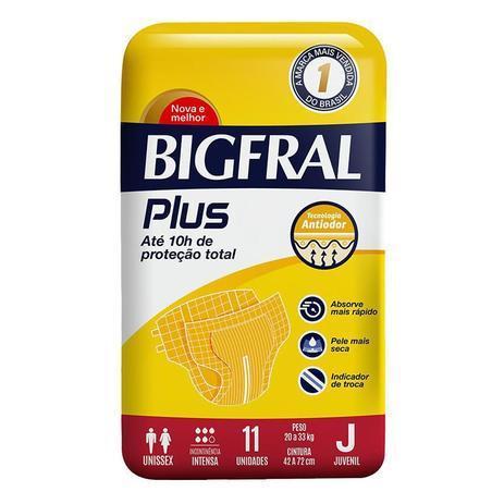 FRALDA BIGFRAL PLUS JUVENIL C/11