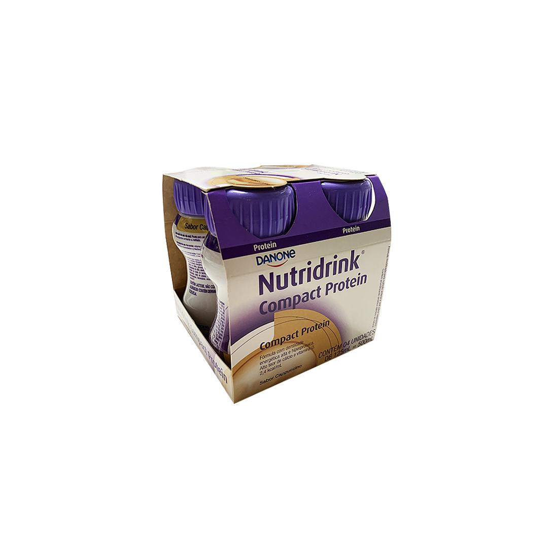 NUTRIDRINK COMPACT C/4 CAPUCCINO 125ML