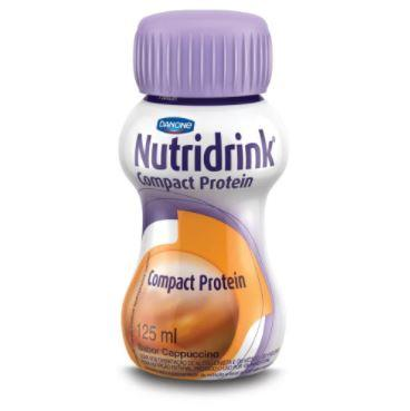 NUTRIDRINK COMPACT PROTEIN C/4 CAPUCCINO 125ML