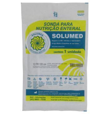SONDA ALIMENTACAO NUTRI C/FIO GUIA 12 NASOENTERAL - SOLUMED