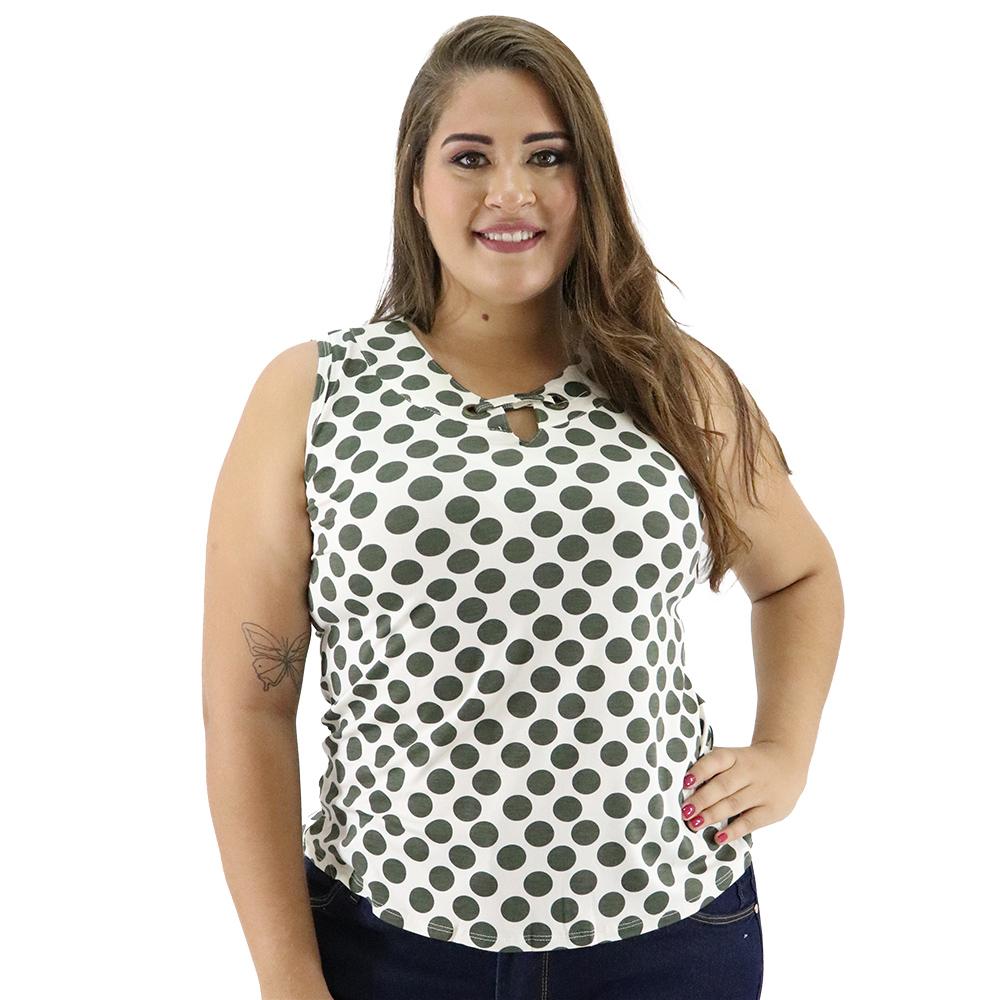 Camiseta Plus Size Viscose