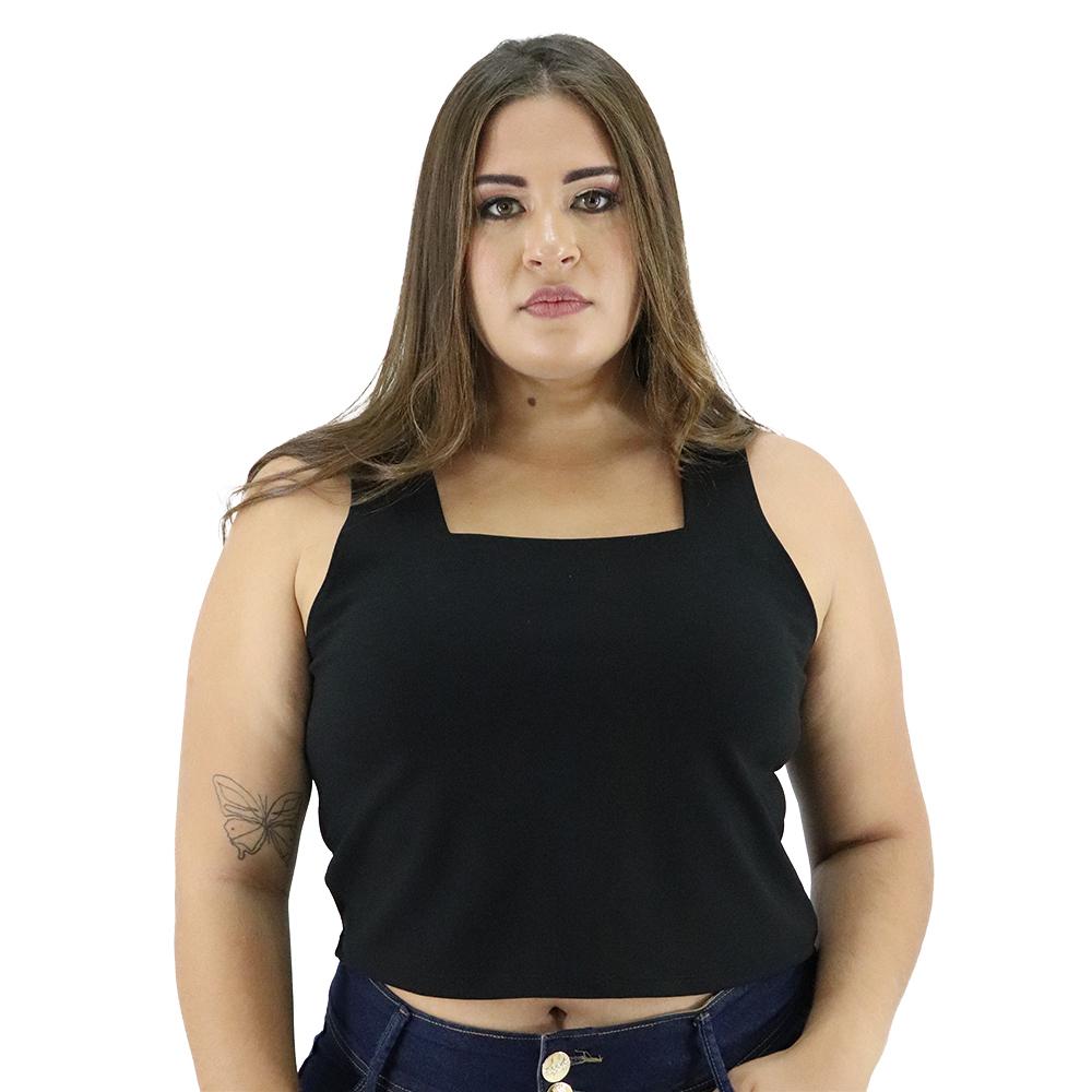 Cropped Pluz Size Larissa