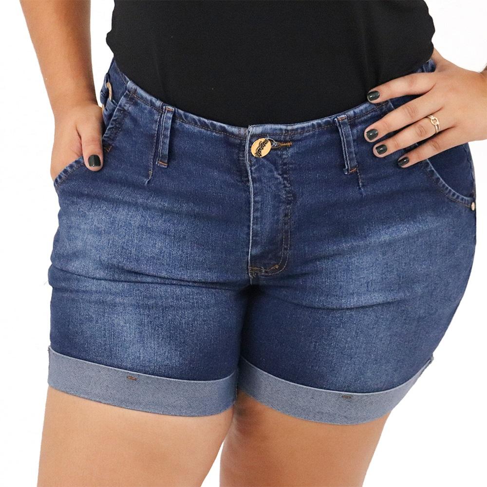 Short Plus Size Jeans