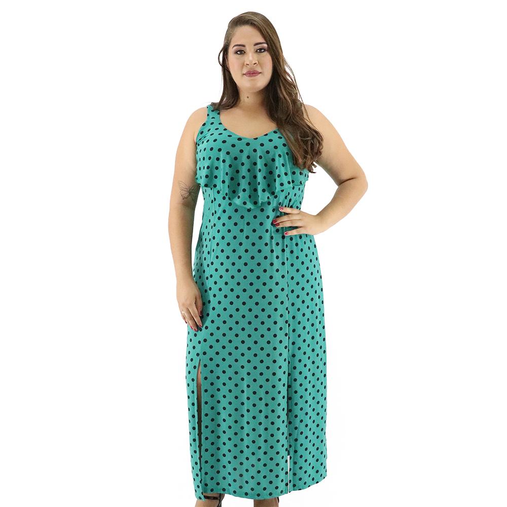 Vestido Longo Plus Size Liganete