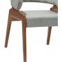 Cadeira Cosmo Rufle com  G1 Tecido 1,69 Natural