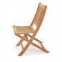Cadeira Casa Jardim Sem Braço Dobravel Jatoba