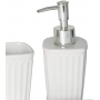 Conjunto 3 Peças De Cerâmica Para Banheiro Lyor Aantibes Branco