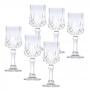 Conjunto Com  6 Taças De Vidro Para Licor Lyor Diamante 60ml