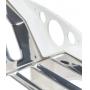 Escorredor 12 Pratos Suprema, 41,5 x 27,5 x 29 cm, Branco, Brinox