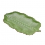 Folha Banana Decorativa Cerâmica Leaf Verde