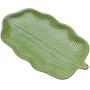 Folha De Cerâmica Banana Decorativa Lyor Leaf Verde