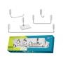 Kit de Acessorios para Banheiro Docol com 5 Peças Idea
