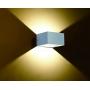 Luminária Arandela Branca Bronzearte Sensitive LED 8W 6500K
