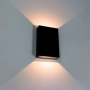 Luminária Preta Arandela Bronzearte Sensitive LED 4W 3000K