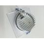 Luminária Branca Decorlux Spot LED Quadrada 7W 6500K
