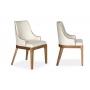 Cadeira Petra CD65 Sienna Cor Amêndoa Tecido 3002 Plus