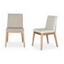 Cadeira Petra CD74 Aisha Mat Cor Bronze Tecido 3011