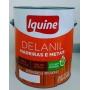 Tinta Esmalte Sintético Iquine Delanil Azul Celeste 3,6L