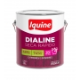 Tinta Esmalte Sintético Iquine Dialine Seca Rápido Azul França 3,6L
