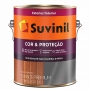 Tinta Esmalte Sintético Suvinil Cor E Proteção Brilhante Branco 3,6L