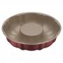Forma para Bolo de Alumínio com Revestimento Interno Antiaderente Tramontina Vermelho