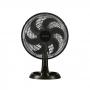 Ventilador Oscilante Para Mesa 30cm 6 Pás Ventisol Eco Turbo - Cinza