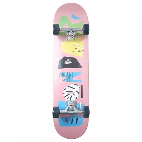 Skate Hondar Iniciante Scribble Pink