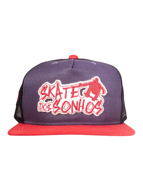Boné SDS CO Standard Logo Gray / Red