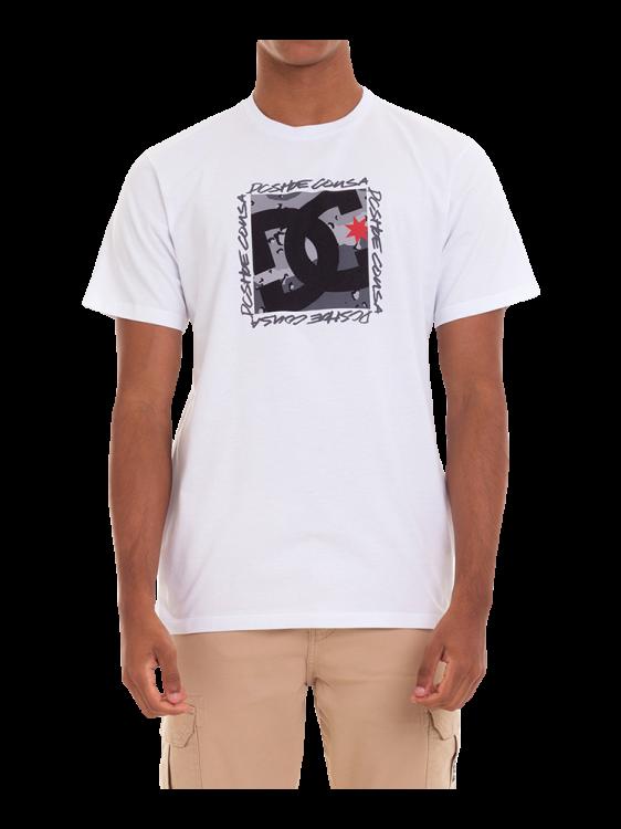 Camiseta DC Shoes Big Square Branca