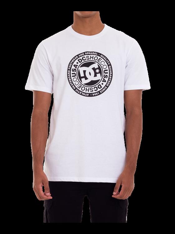 Camiseta DC Shoes Circle Star Branca