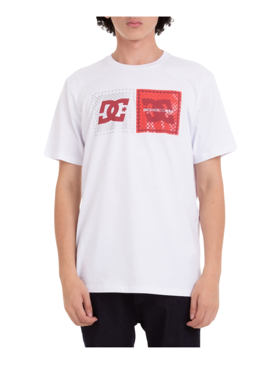 Camiseta DC Shoes Come With Pills Branca