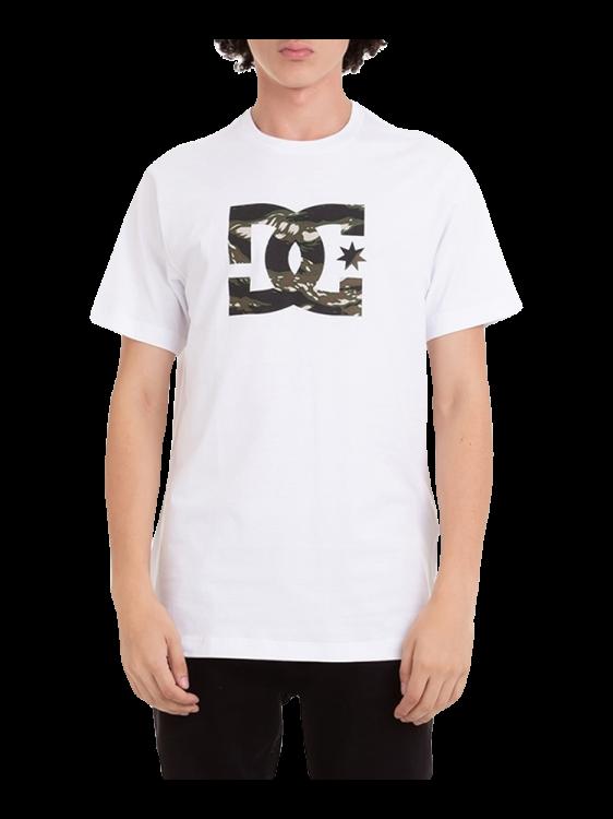 Camiseta DC Shoes Star Camo Branca