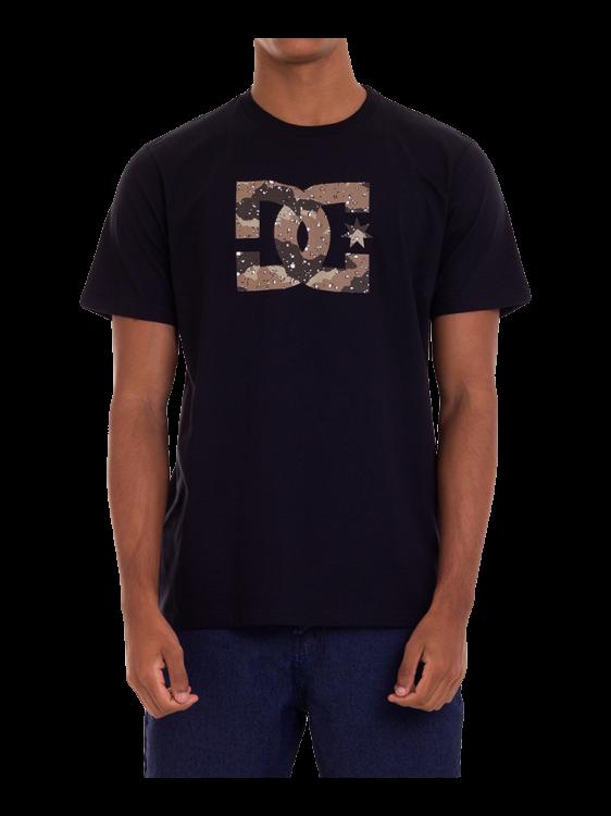 Camiseta DC Shoes Star Camo Marrom / Preta