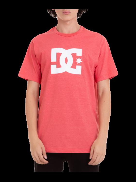 Camiseta DC Shoes Star Vermelha Mescla