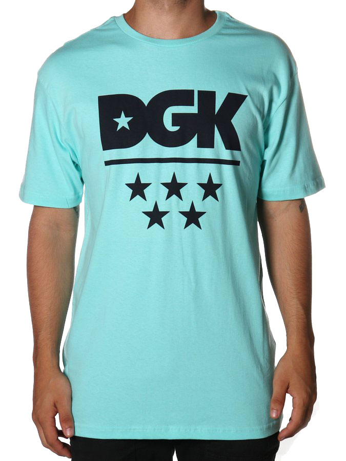 CAMISETA DGK ALL STAR TEE CELADON