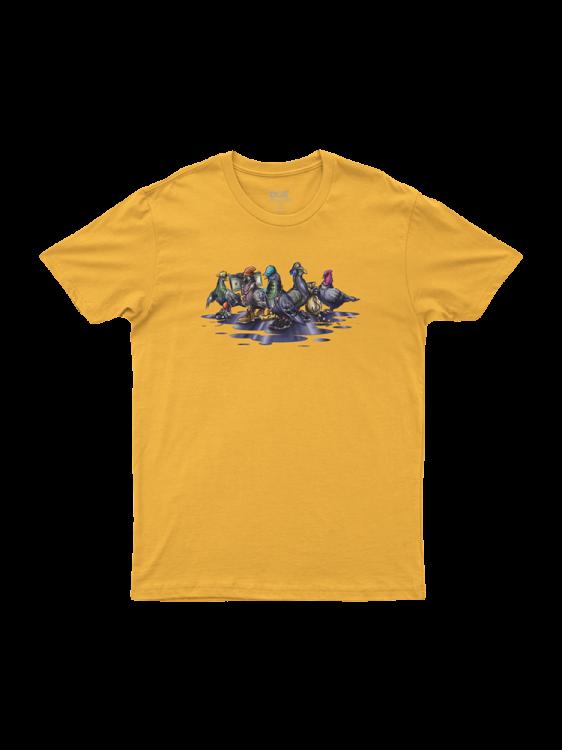 Camiseta Dgk Coop Amarela