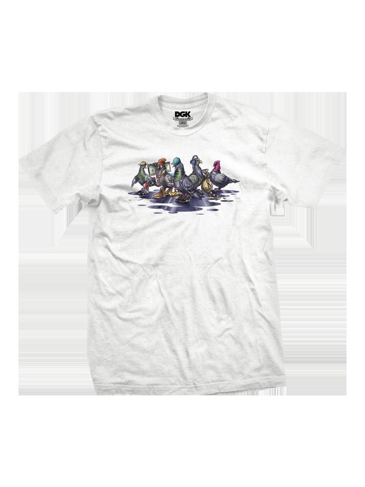 Camiseta Dgk Coop Branca
